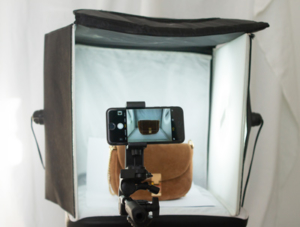 Fotozelt für Produktfotografie